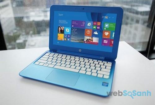 Màn hình trên laptop mini
