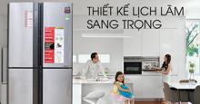 Đánh giá tủ lạnh Sharp inverter dòng 4 cửa 626 lít SJ-FX630V-ST có tốt không ? Giá bao nhiêu ?