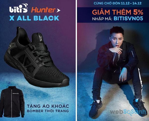 Giày Sneaker Nam Biti's Hunter X – Chữ ký Sơn Tùng M-TP tặng áo giá chỉ 899k