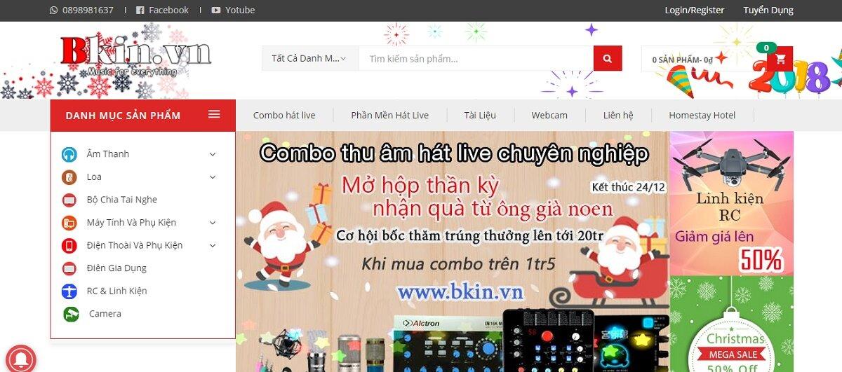 BKIN.VN – Cung cấp thiết bị, giải pháp livestream chuyên nghiệp cho doanh nghiệp