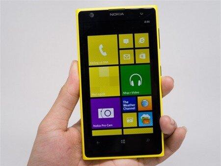 Lumia 1020 có màn hình rộng 4,5-inch