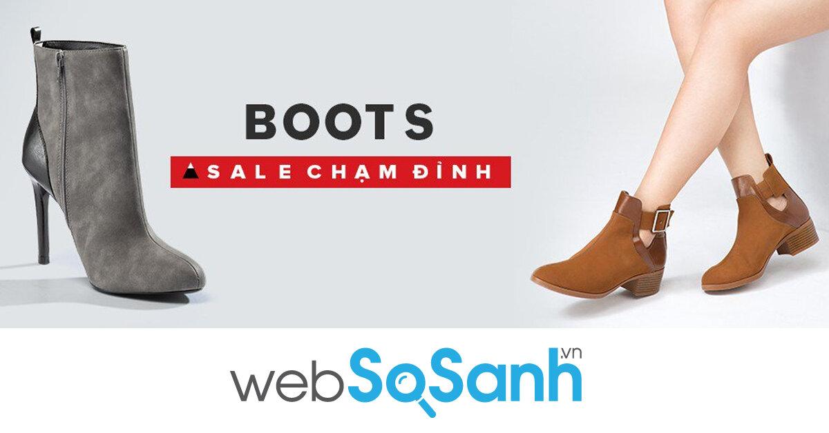 Black Friday Juno Sale chạm đỉnh bạn sẽ mua được Boots cổ ngắn sành điệu năng động với giá bao nhiêu ?