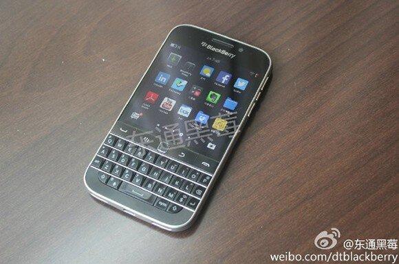 BlackBerry Classic lộ hình ảnh thực tế
