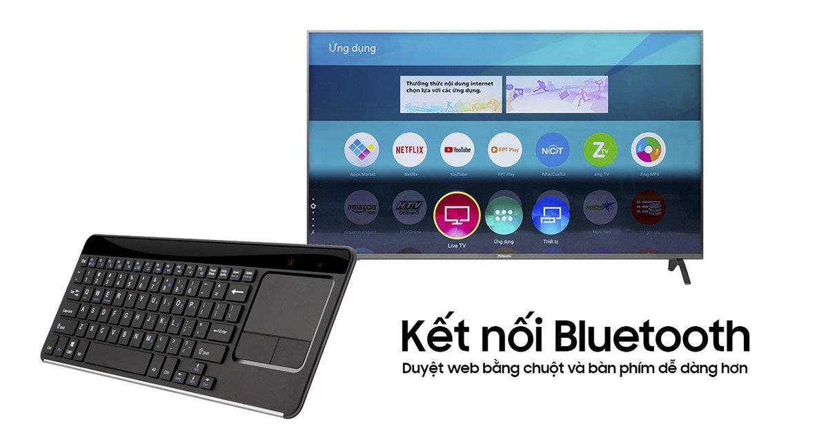 Bluetooth trên smart tivi có chức năng gì ?