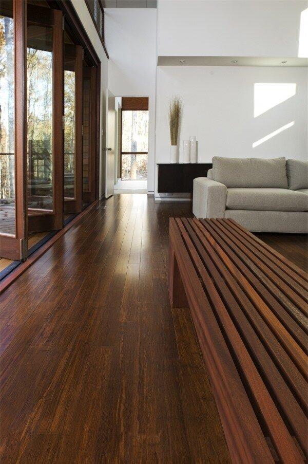 Sàn nhà bằng tre