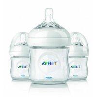 Bộ 3 bình sữa Philips AVENT Natural chất lượng châu Âu