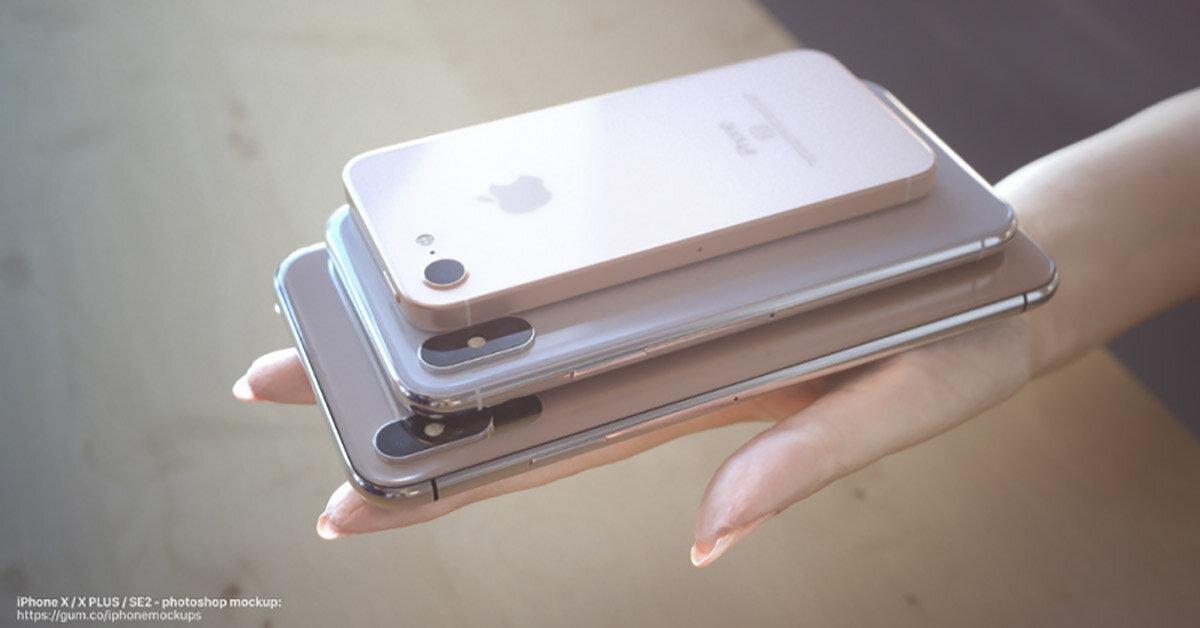 Bộ 3 điện thoại iPhone 2018 lộ giá bán trước ngày ra mắt 12/9