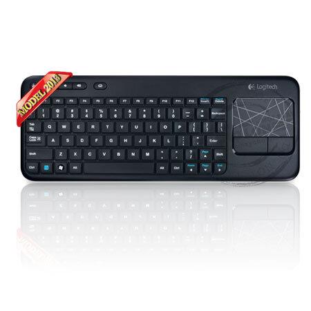 Bộ bàn phím – chuột Logitech Wireless Touch Keyboard K400r quyết định thành công