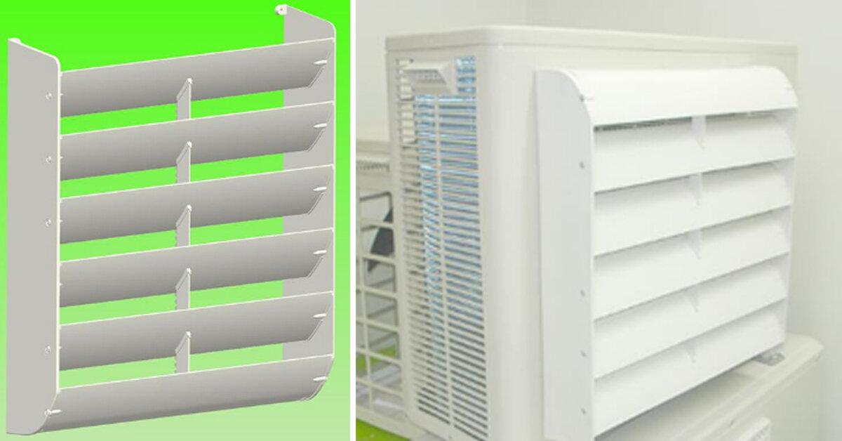 Bộ điều chỉnh hướng gió dàn nóng có mấy loại ? Giá bao nhiêu tiền ?