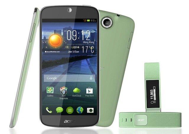 Bộ đôi Liquid Jade Plus và Liquid Leap của Acer sẽ lên kệ vào tháng 8 tới