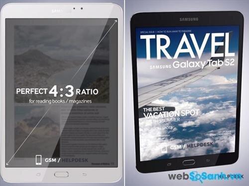 Bộ đôi máy tính bảng Samsung Galaxy Tab S2 sẽ được công bố vào 20/7