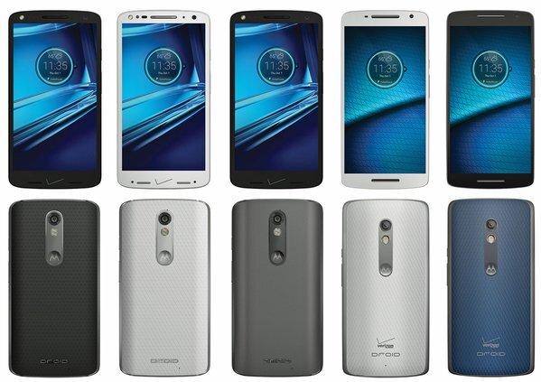 Bộ đôi smartphone mới Motorola Droid Turbo 2 và Droid Maxx 2