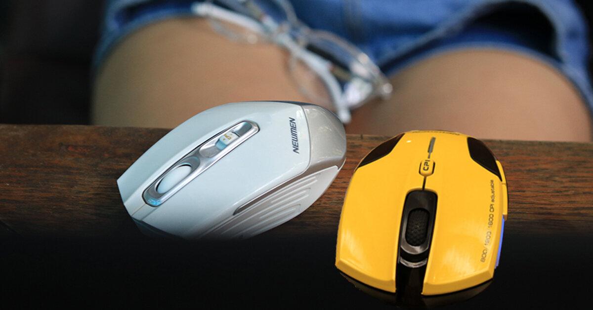 Bộ đôi wireless office & gaming mouse CHẤT – ĐẸP – RẺ này sinh ra là để dành riêng cho những Officer nghiền game đích thực