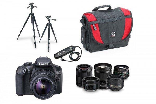 Bộ kit cho những người mới bắt đầu học nhiếp ảnh