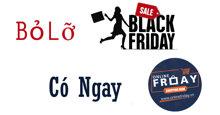 Bỏ lỡ Black Friday? Đừng buồn đã có Online Friday 2017 - ngày mua sắm trực tuyến giá còn rẻ hơn nhiều!
