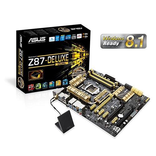 Bo mạch chủ (Mainboard) Asus Z87-DELUXE – Đáp ứng mọi thứ bạn cần