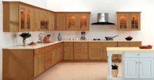 Bố trí nội thất nhà bếp sao cho tiện nghi và đẹp mắt?