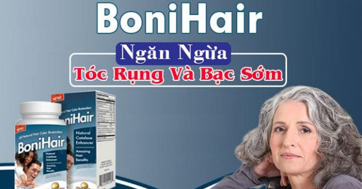 Bonihair chữa rụng tóc thực sự có tác dụng ?