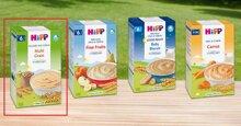 Bột ăn dặm Hipp loại nào ngon?