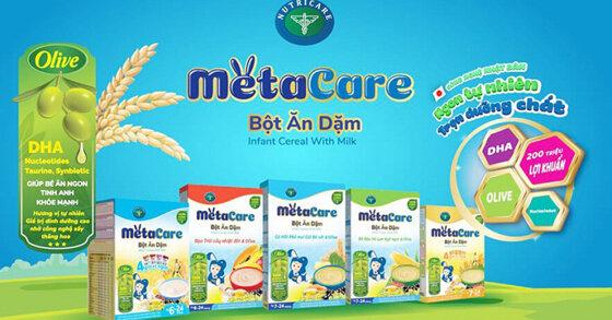 Bột ăn dặm Metacare của nước nào? Có tốt không?