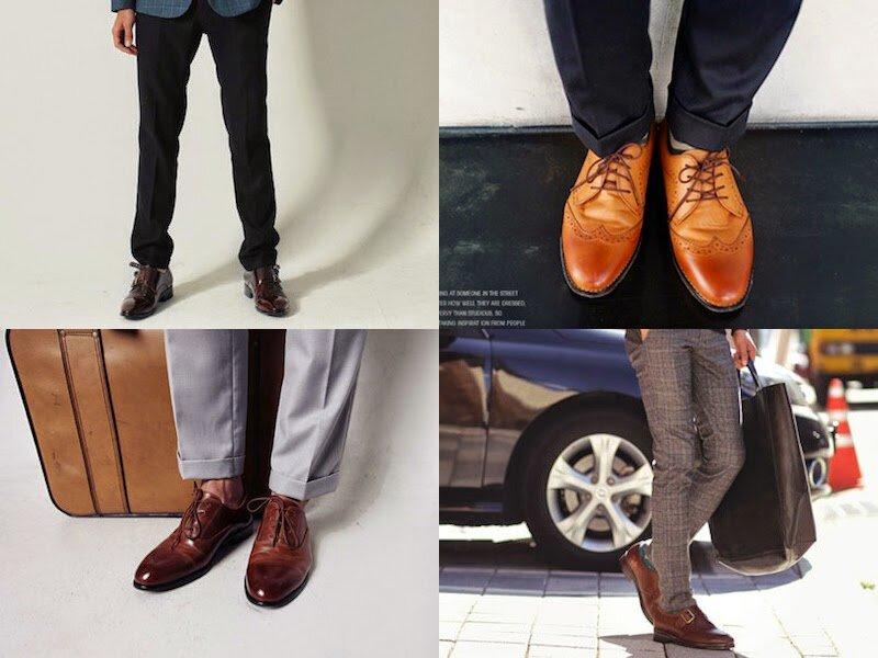 Những mẫu giày tây công sở mix với quần âu càng thêm vẻ thanh lịch