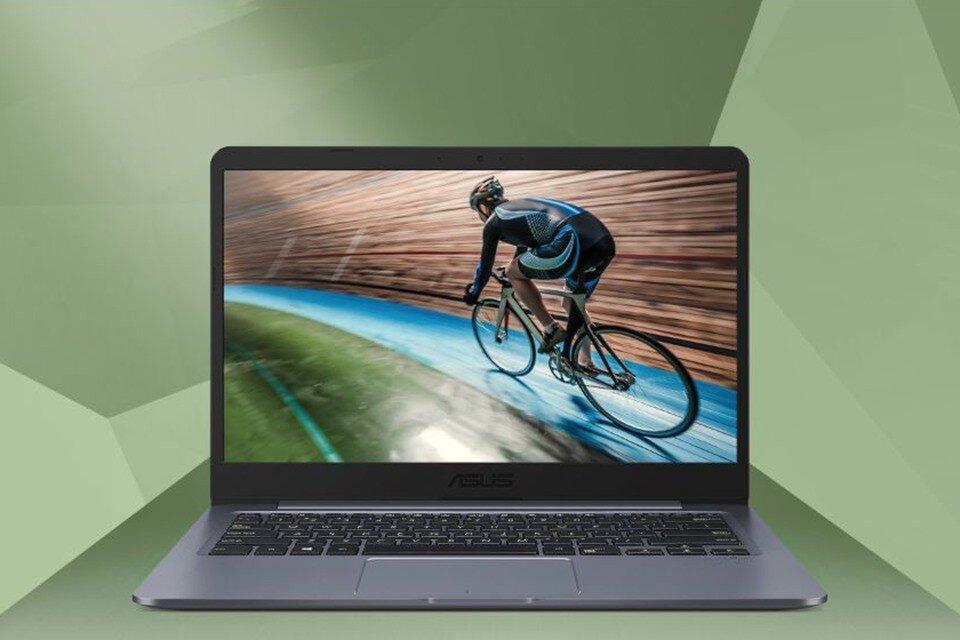 Laptop phổ thông, thiết kế gọn nhẹ và sở hữu viền màn hình mỏng
