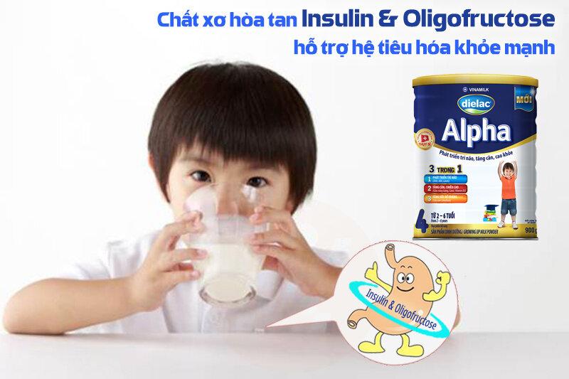 Sữa bột Vinamilk Dielac Alpha Step 4