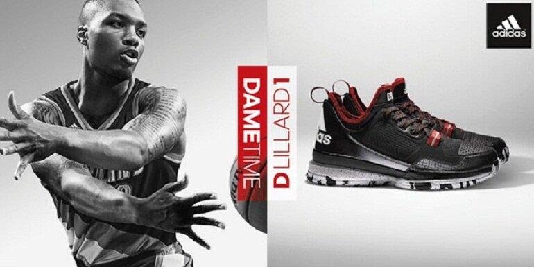 Giày bóng rổ Adidas được nhiều vận động viên bóng rổ tin chọn