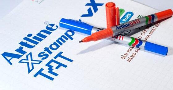 Bút Artline lông dầu là gì ? Có mấy loại ? Giá bút lông dầu Artline bao nhiêu tiền ?