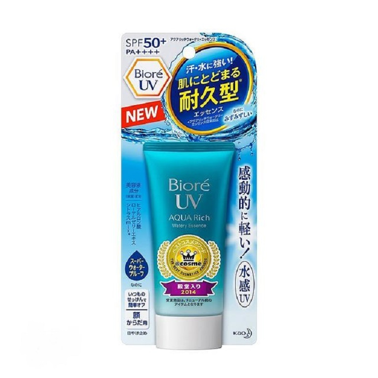 Kem chống nắng Biore Aqua rich watery essence water base
