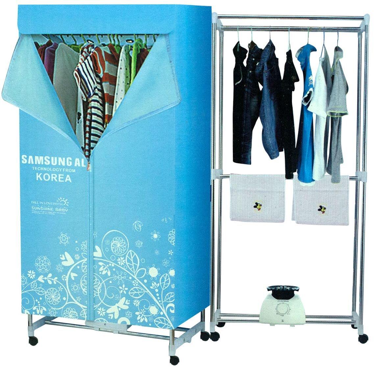 Tủ sấy quần áo có thể lắp ghép vô cùng đơn giản