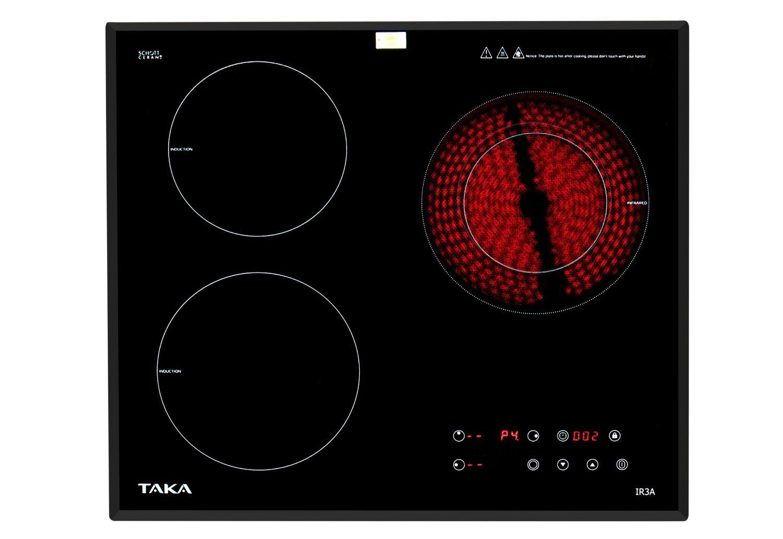 Bộ bếp từ + hồng ngoại Taka IR3A 5400W Nhật Bản