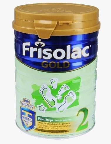 Sữa bột Frisolac Gold 2 - hộp 400g (dành cho trẻ từ 6 - 12 tháng)