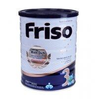 Sữa bột Friso 3 - hộp 900g (dành cho trẻ từ 1 - 3 tuổi)