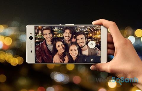 điện thoại chuyên selfie Sony Xperia XA Ultra