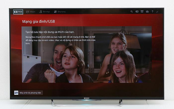 giao diện sony entertainment