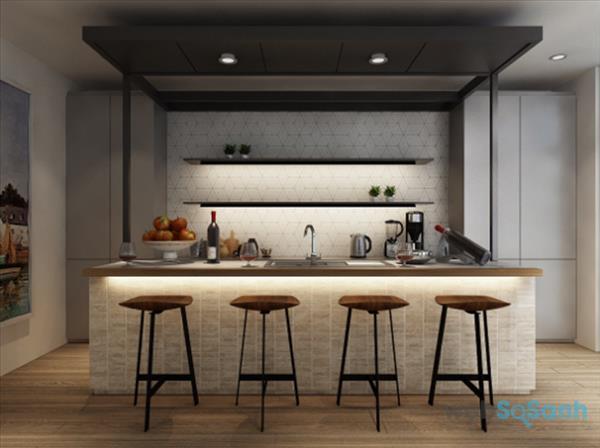 không gian bếp đẹp