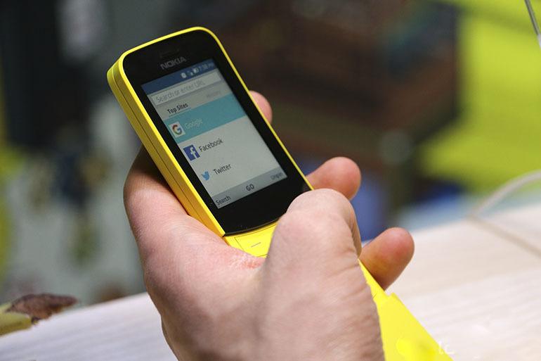 Điện thoại Nokia 8110 4G được hãng cải tiến mạnh mẽ hơn dòng điện thoại cũ ngày xưa gấp nhiều lần, cho người dùng thoả thích nghe gọi và giải trí đơn giản tốt