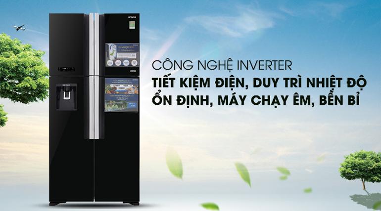 Tủ lạnh thiết kế 4 cánh