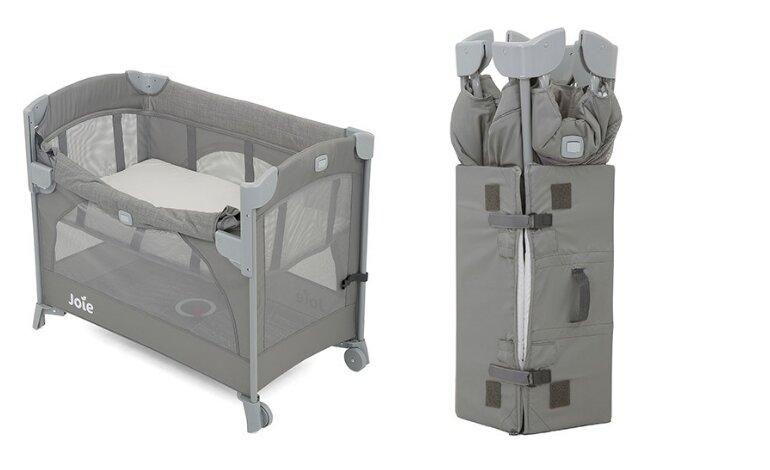 Giường cũi trẻ em Joie Kubbie Sleep Foggy Gray - Giá tham khảo: 2.459.000 vnđ