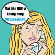 """""""Dùng Websosanh tránh mất tiền ngu"""""""