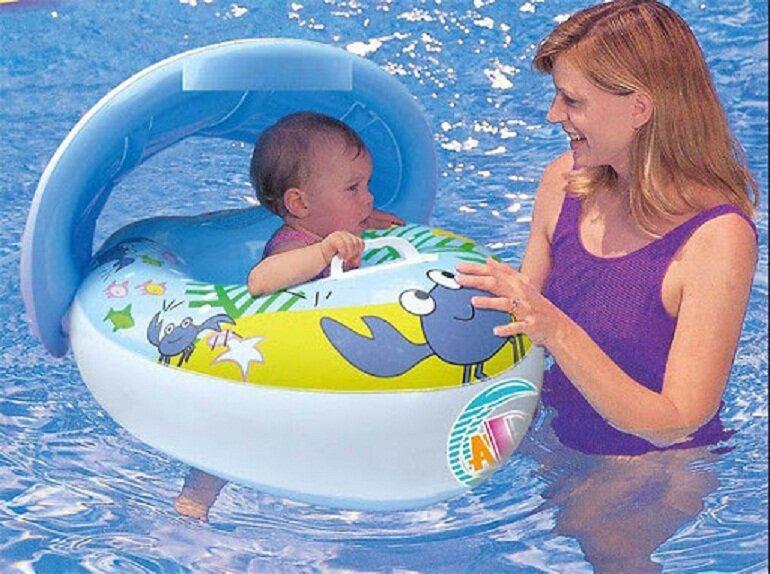 Phao bơi chống lật đảm bảo an toàn cho bé