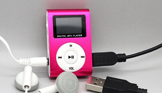 Các bước để sử dụng một máy nghe nhạc mp3