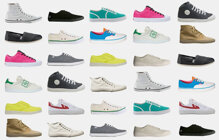 Các bước làm sạch giày vải, giày canvas trắng