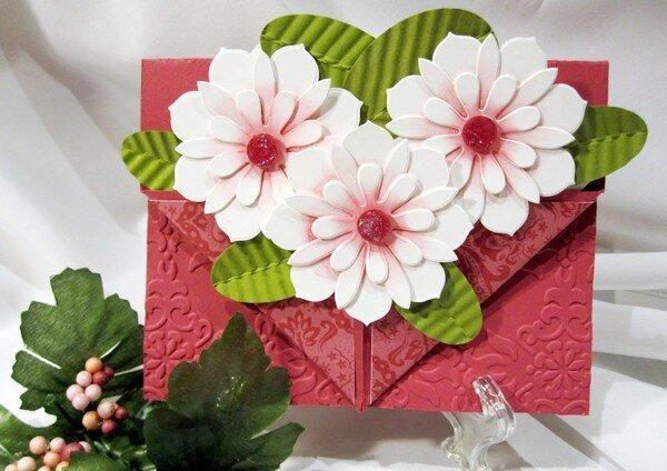 Các bước làm thiệp hoa 3D tặng thầy cô giáo dịp 20/11