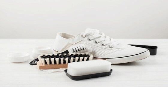 Các bước vệ sinh giày thể thao nữ trắng