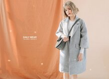 Các cách diện áo khoác oversize xinh đẹp ngày gió lạnh