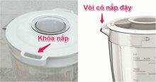 Các chức năng an toàn của máy xay sinh tố