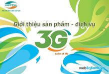 Các gói cước truy cập internet 3G của Viettel