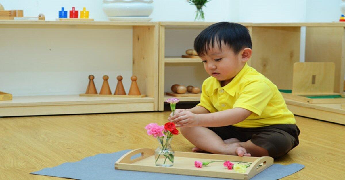 Các hoạt động kích thích sự sáng tạo của trẻ bởi phương pháp Montessori